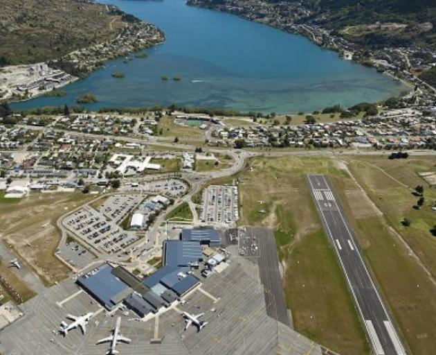 Queenstown Airport. Photo: ODT files