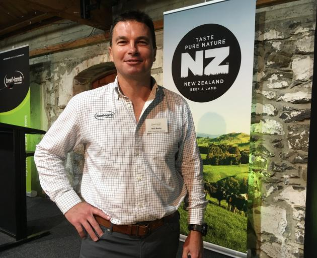 Nick Beeby says country of origin is the primary thing a consumer takes into consideration when considering what food to buy. Photo: Chris Tobin