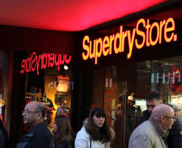 A Superdry store located in Cambridge, London. Photo: Getty Images