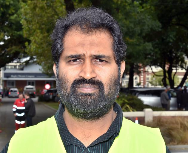 Academic Dr Mohammed Rizwan has travelled to Christchurch with about 20 others from Dunedin, to help in the aftermath of Friday's massacre. P