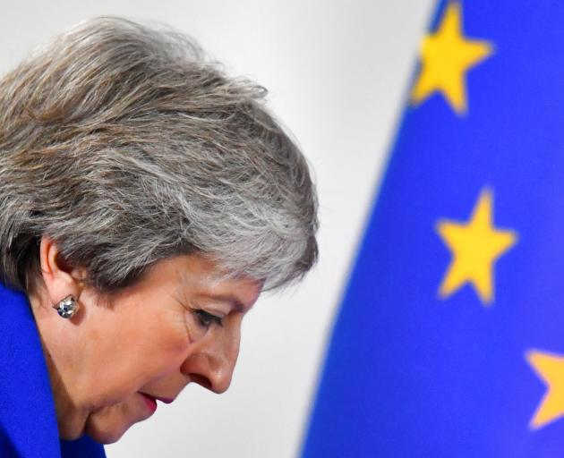 British Prime Minister Theresa May says the deal offers control of UK borders and budgets while...