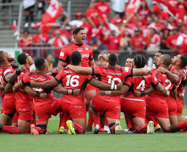 新西兰人将有机会为汤加的2017年世界杯失利报仇。照片:Getty Images