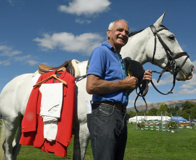 With his riding jacket ironed and a borrowed horse, Wanaka A&P Show life member Tussock Lucas is...
