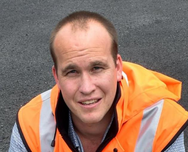 Council 3 waters group manager Tom Dyer. Photo: ODT