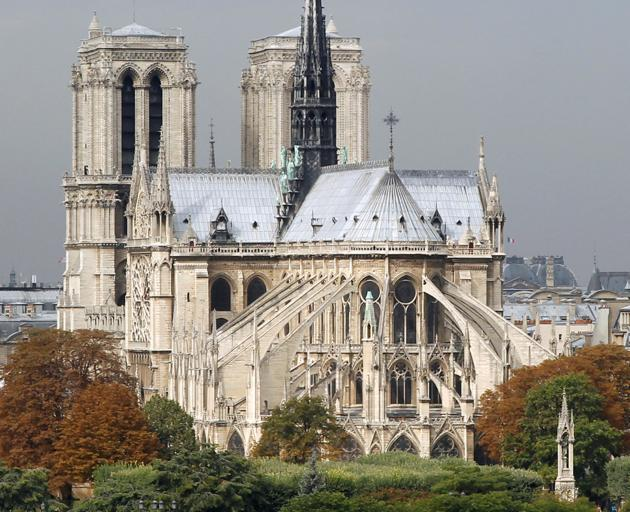 BEFORE: General view of the Notre Dame Cathedral and the River Seine in Paris, September 26, 2010.