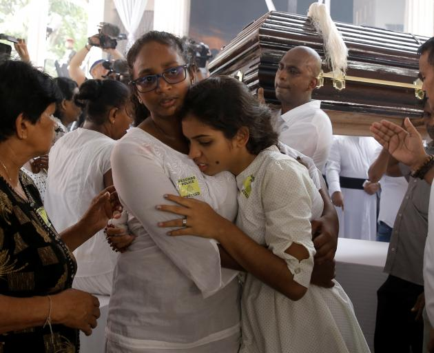 The first funerals have been held following the attacks. Photo: Reuters