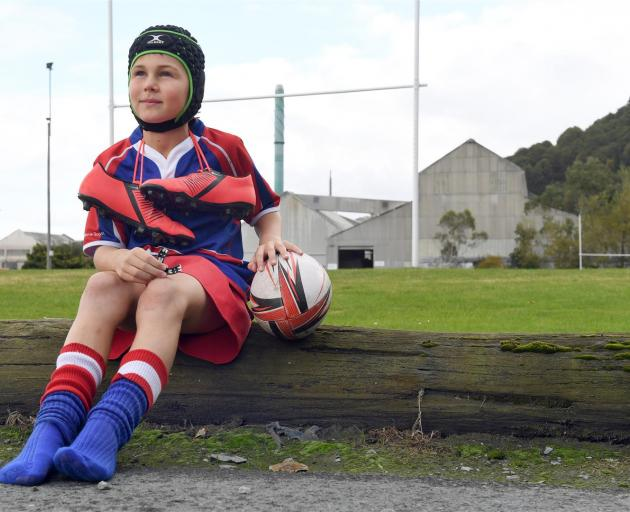 Harbour Hawks junior rugby player Archie McDonald contemplates the end of home games at Moller...