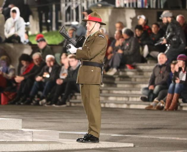 The Auckland Dawn Service. Photo: RNZ