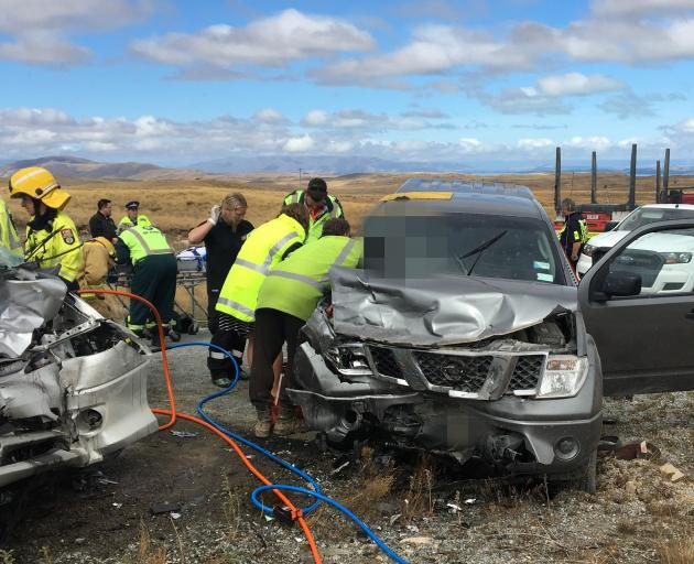Teams worked feverishly to free the injured from a crash in Tekapo earlier this month in which...