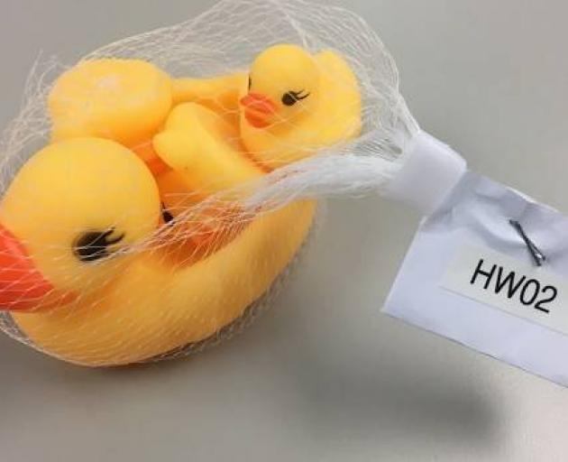 Rubber ducks that posed a choking risk to young children helped earn an importer a $20,000 fine....