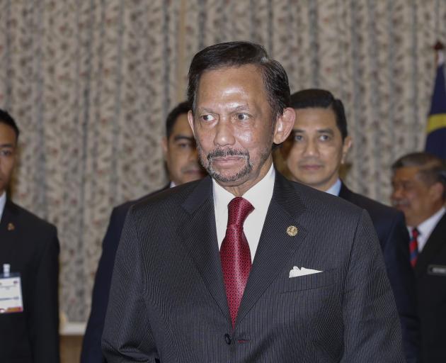 Sultan Hassanal Bolkiah. Photo: Getty Images