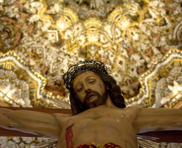 A depiction of Jesus on the cross. Photo: Getty Images