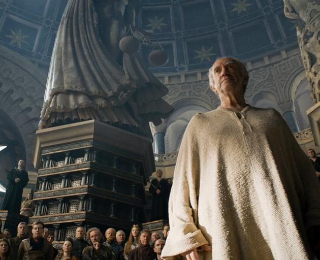 Jonathon Pryce as the High Sparrow.