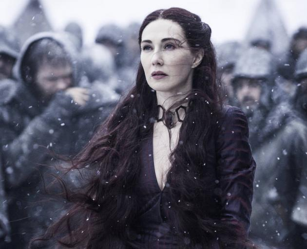 Carice van Houton as Melisandre. Photos: HBO