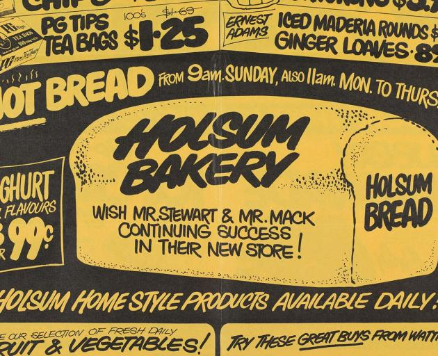 Hot bread advertisement in Mornington A-1 Dairy flyer, (1980). Donated by Ray Hargreaves, 1980.
