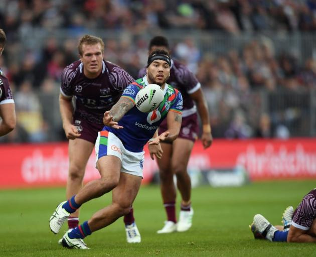 Jazz Tevaga has been cleared to play for the Warriors this weekend. Photo: Getty Images