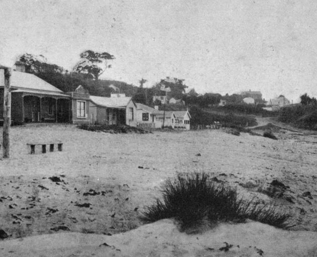 Kaka Point township, Port Molyneux. - Otago Witness, 16.4.1919