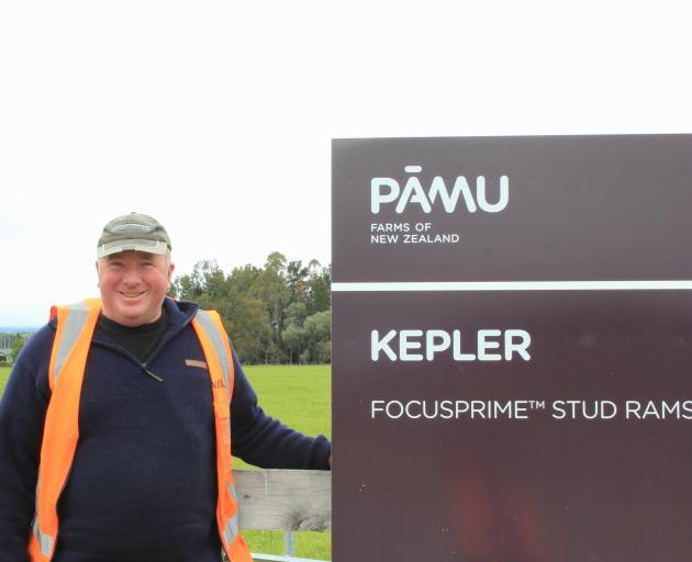 Kepler Farm manager Travis Leslie. PHOTO: SUPPLIED