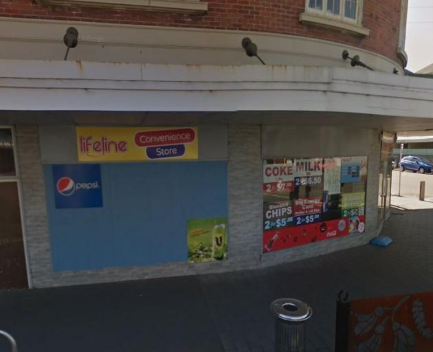 Police say a burglary targeted a range of items including Powerade, chips and eight ice creams...