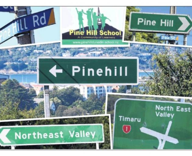 24a219ce1 The NZ Transport Agency will correct the spelling on its Dunedin road signs.  GRAPHIC: