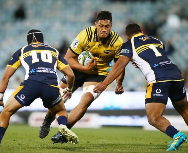 Hurricanes lock Sam Lousi is set to head to Wales. Photo: Getty Images