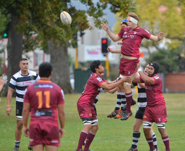 Southern won 45-19 against Alhambra-Union at The North Ground this afternoon. Photo: Gerard O'Brien
