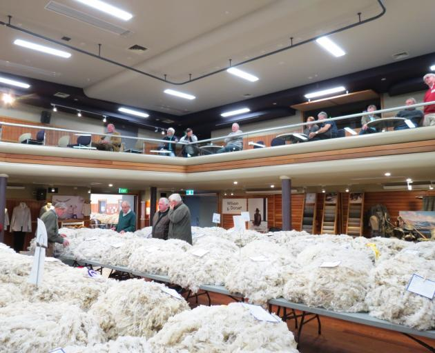 For the past two years, the Golden Fleece competition has been held in Wanaka - this year it moves to Rangiora. Photo: Allied Press Files