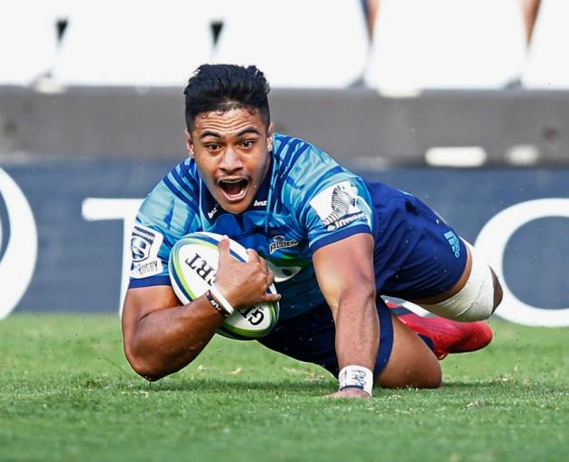 Tanielu Tele'a will miss the next four matches for the Blues. Photo: Getty Images