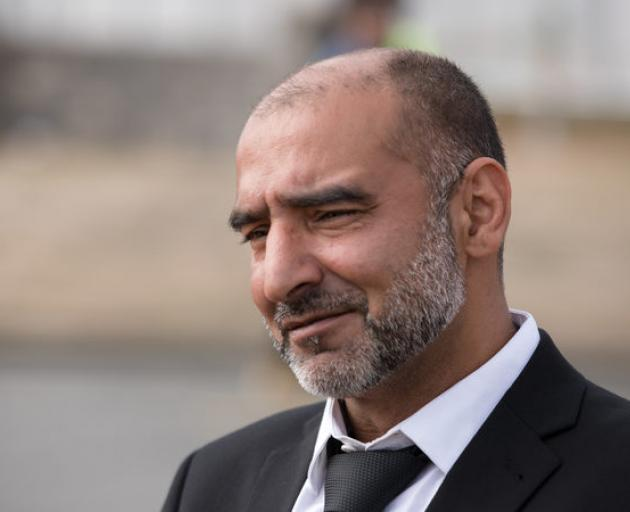 Yama Nabi says he has been unable to return to his job as a butcher after searching for his father among the Al Noor mosque casualties. Photo: RNZ