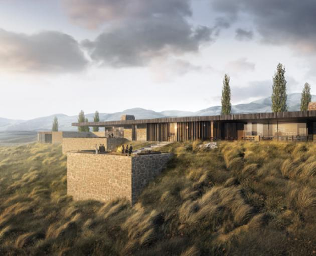 The Hogans Gully golf course clubhouse designed by Auckland architect Andrew Patterson. Image:...