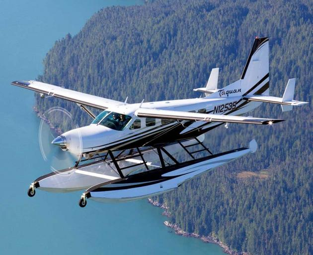A Cessna 208 Supervan 900 Amphibian. PHOTO: SKYQUESTINTERNATIONAL.COM