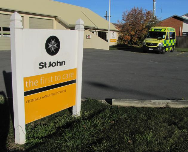 Cromwell's St John ambulance station in Barry Ave. Plans for a new $3.4million ambulance hub on...