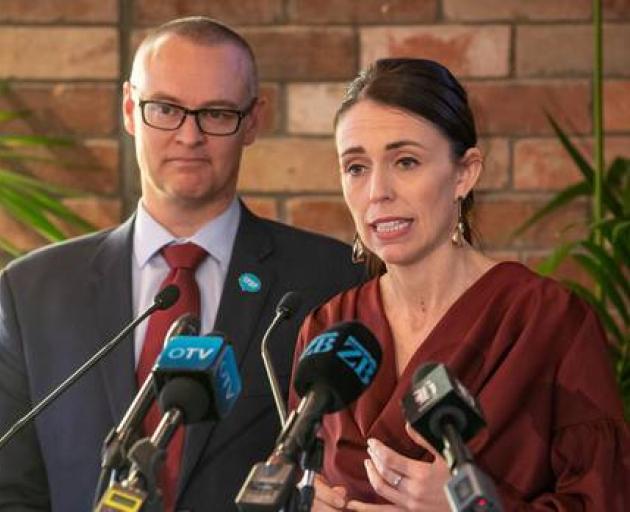 Prime Minister Jacinda Ardern and Health Minister David Clark respond to the mental health...