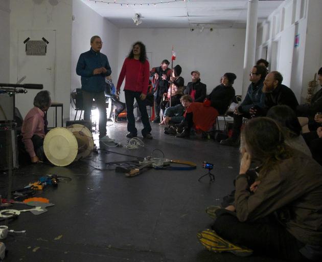 Bulgasari Aotearoa dropped into None Gallery for a gig in 2017.PHOTOS: SUPPLIED
