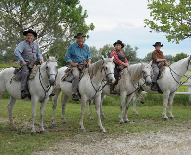 Visiting a Spanish-style ranch in Camargue. Photo: Tauck Inc