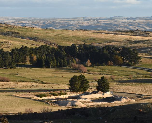 The site of Foulden Maar, near Middlemarch. PHOTO: GREGOR RICHARDSON