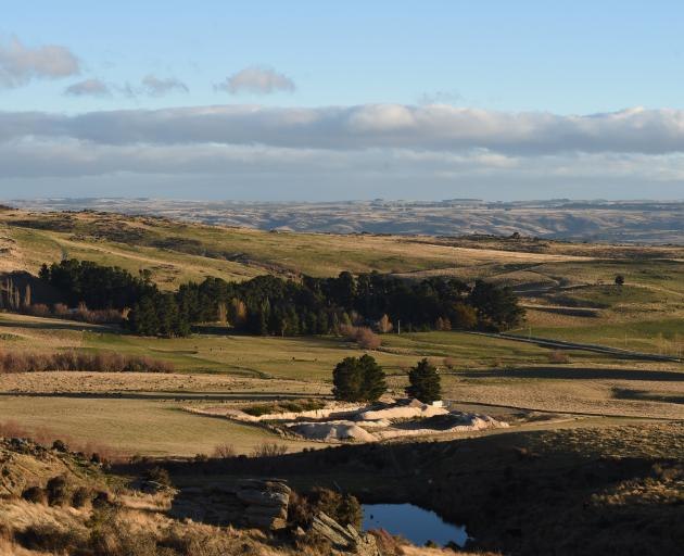 Foulden Maar near Middlemarch in Otago.PHOTO: GREGOR RICHARDSON