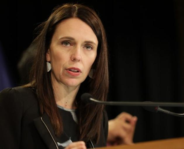 Jacinda Ardern说,报告强调的问题需要纠正。照片:RNZ