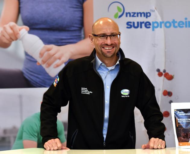 NZMP chief operating officer Kelvin Wickham attends Fonterra's farmer conference in Dunedin....