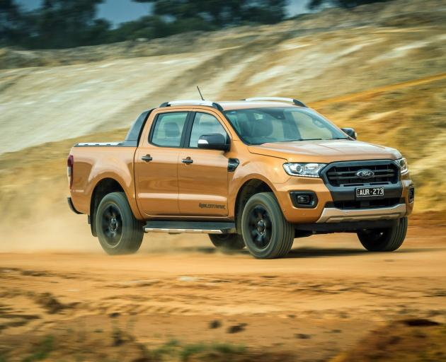 The Ford Ranger. Photo: AP
