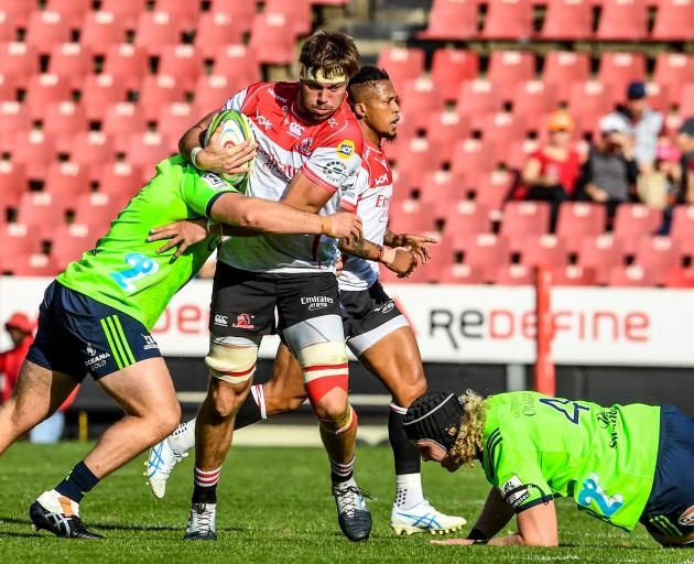The Highlanders fought gamely but in the end fell short to the Lions. Photo: Getty Images