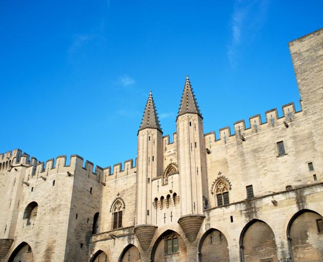 The medieval palace of the Palais des Papes. Photo: Getty Images
