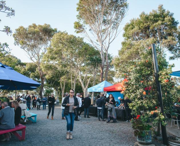 Clearview winery at Hastings hosts a relaxed Vibes in the Vines event on a Friday night. Photo:...