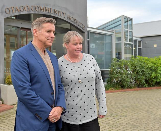 Planning a new pilot scheme for home-based palliative care are Otago Community Hospice clinical...