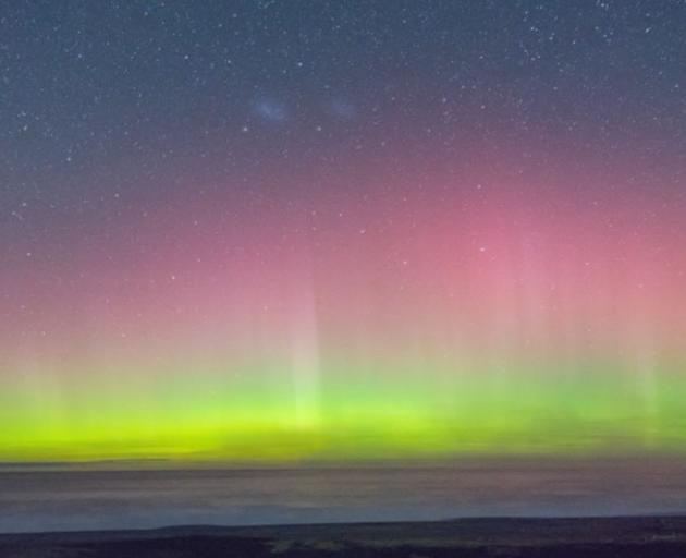 The Aurora Australis lights up the southern sky. Photo: NZ Herald (file)