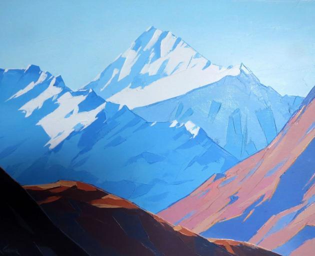 Mt Aspiring, Wanaka, by John Gillies
