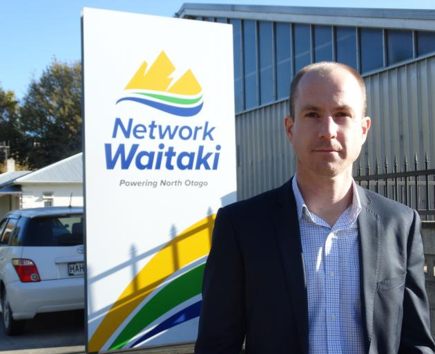 Network Waitaki chief executive Geoff Douch started in the role on April 1. PHOTO: DANIEL BIRCHFIELD