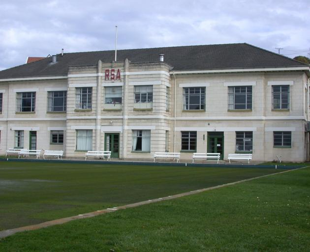 The former RSA building in Itchen St, Oamaru. Photo from ODT files.