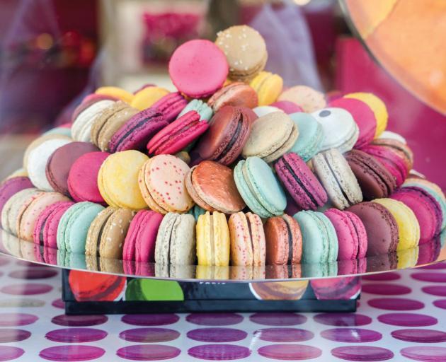 A chance to make macaroons. Photo: Tauck Inc