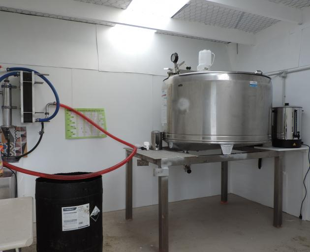 A pasteuriser will soon complete the plant the Moores have installed in their dairy shed.